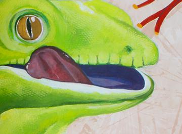 Go Green Gecko