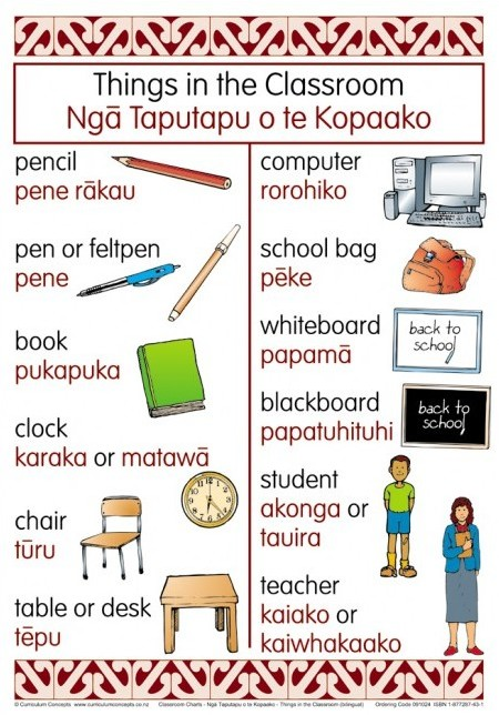 te-reo-things-in-classroom-bilingual-chart.